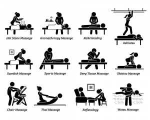 types of massage in Nairobi